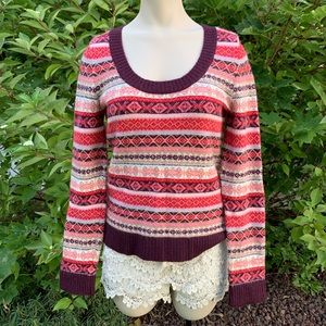 Soft & comfy, super cute sweater. Great condition!